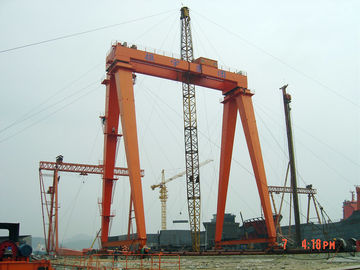 OEM Remote Controlling Gantry Shipyard Cranes For Granite Industry