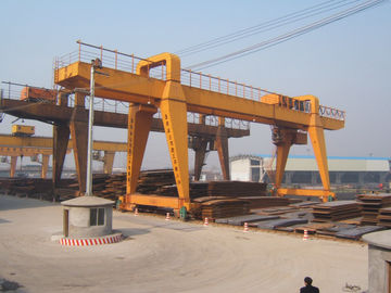 Chiny MG120t - 32m - 22m Double Beam Gantry Crane For Steel Factory / Port / Shipbuilding dystrybutor